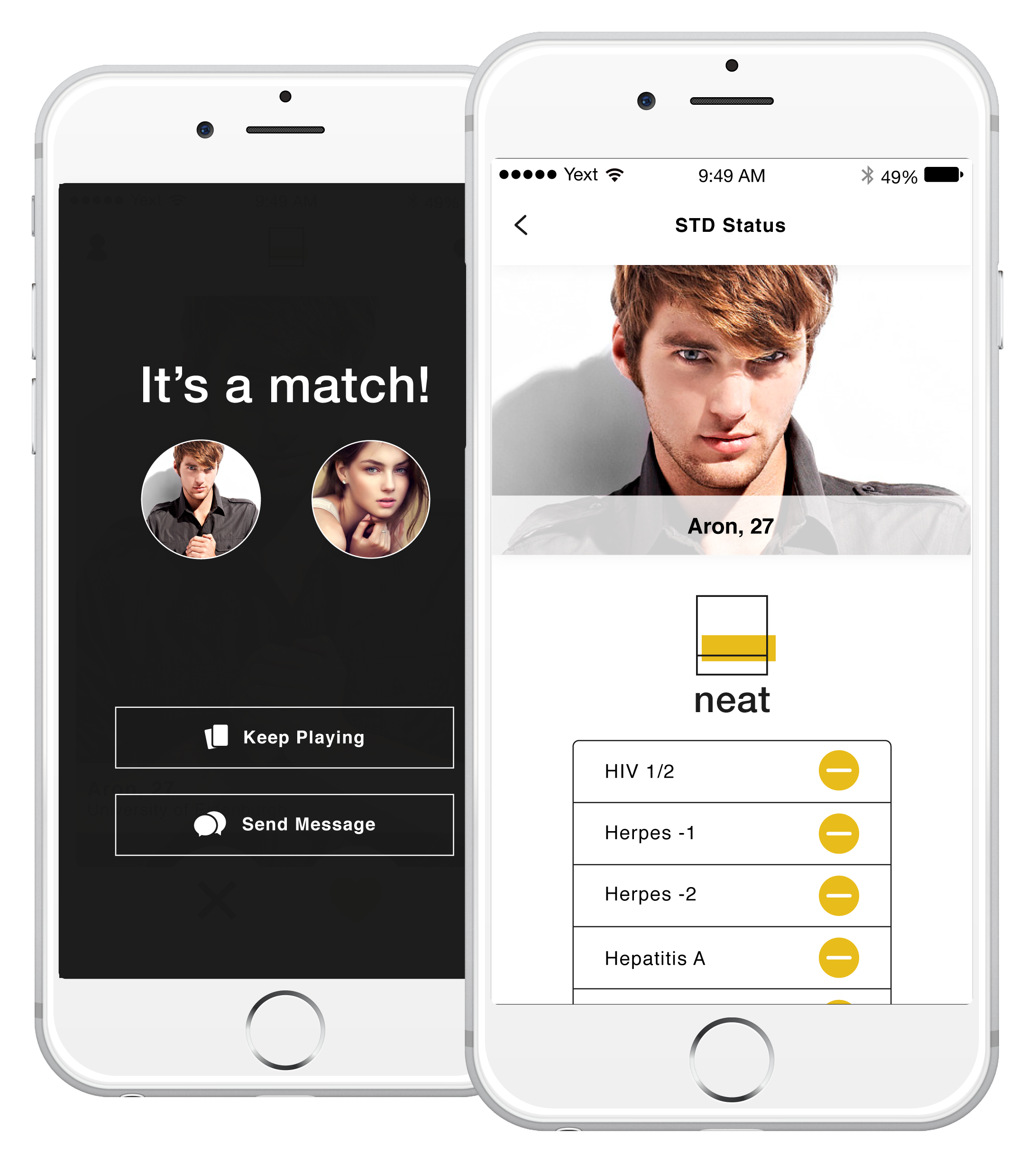 Stewart porn std free dating app